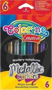 Colorino Creative metál filctollkészlet, 6db-os