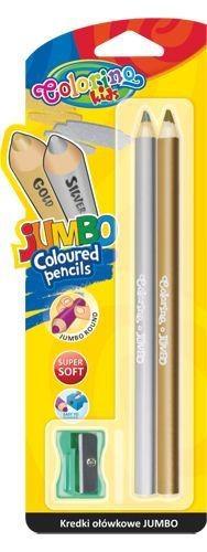 Colorino arany+ezüst színes ceruzakészlet + hegyező
