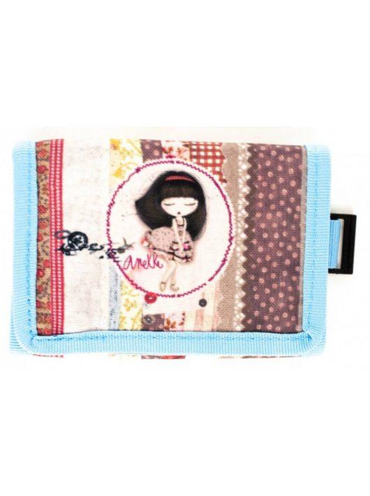 Anekke pénztárca, 12x8 cm, Patchwork
