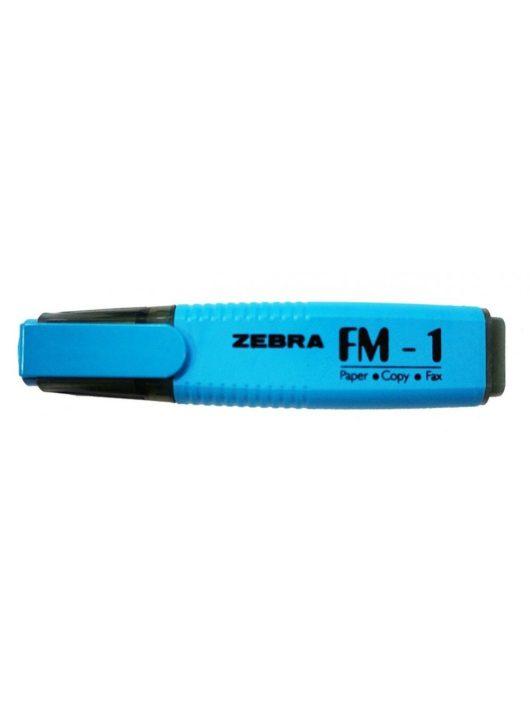 Szövegkiemelő, 2-5mm, Zebra, kék