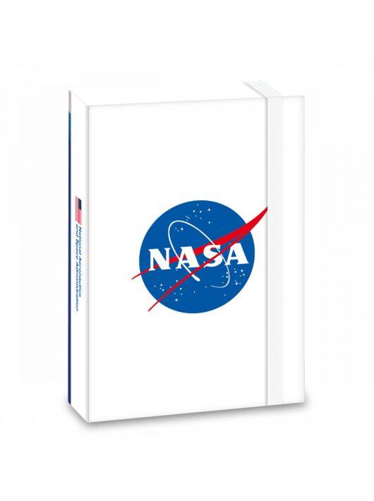 NASA füzetbox A/4, fehér
