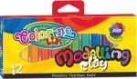 Colorino színes gyurmakészlet, 12db-os