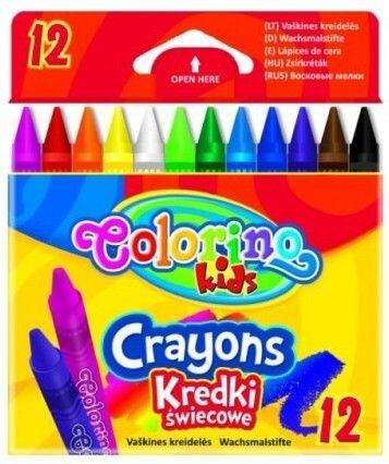 Colorino zsírkréta készlet, 12db-os