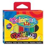 Colorino színes gyurmakészlet, 6db-os