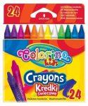 Colorino zsírkréta készlet, 24db-os