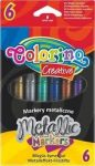 Colorino Creative metál filctoll készlet, 6db-os