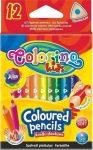 Színes ceruzakészlet 12db-os, MINI trio, Colorino