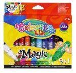 Filctoll készlet 9+1 db-os, színváltós, Colorino MAGIC 3+