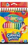 Színes ceruzakészlet 12db-os Colorino JUMBO trio