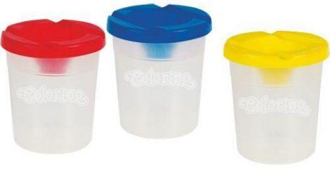 Ecsetmosó pohár, ecsettál, Colorino