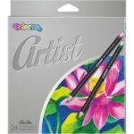 Színes ceruzakészlet 24db-os, Colorino Artist