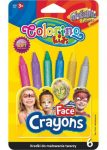 Colorino arcfestő krétakészlet, metál, 6db-os