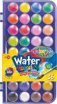 Colorino vízfesték, 36 gombos, 23mm