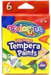 Tempera készlet, 6x12ml, tubusos, Colorino