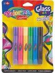 Colorino Creative üvegfóliafesték készlet, 6x10,5ml