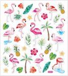 Matrica, flamingo, 15x17cm