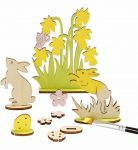 Húsvéti fa dekoráció készítő kreatív szett, 20x17cm