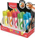 Szövegkiemelő roller, Maped Fluo Peps, vegyes színek