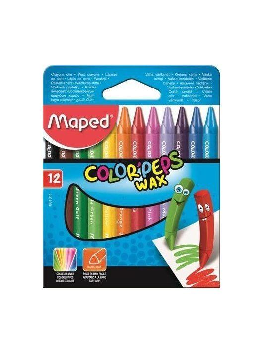 Maped Color Peps Wax zsírkréta készlet 12 db-os
