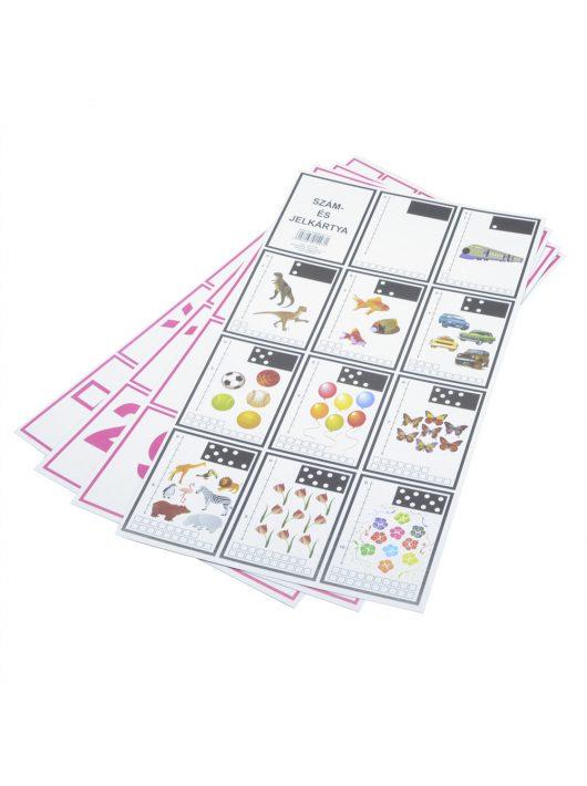 Szám- és jelkártya 1. oszt.