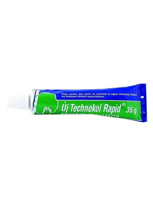 Ragasztó, folyékony, 35g, TECHNOKOL Rapid, zöld