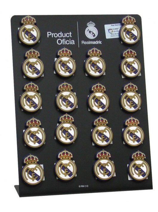 Real Madrid hűtőmágnes, gumi, 2,5x4cm