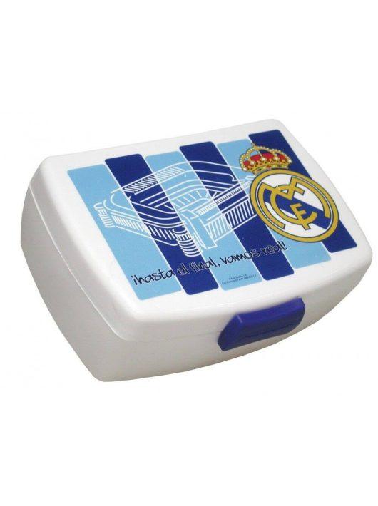Real Madrid uzsonnás doboz, 16x11x6,5 cm