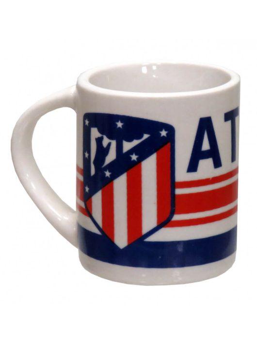 Atlético de Madrid bögre, kerámia, mini, 50 ml