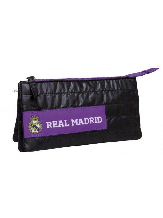 Real Madrid tolltartó, beledobálós, szögletes 22x12x6cm