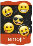 Emoji - smiley notesz A/6, többféle minta