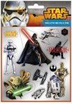 Star Wars matrica 11x16cm, metál