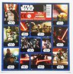 Star Wars matrica 16x16cm, többféle