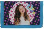 Soy Luna pénztárca, 12,5x8 cm, SL11, csillagos