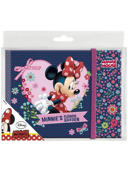 Minnie napló gumis pánttal, A/5, többféle