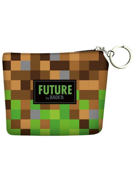 Minecraft mintás BackUp kulcstartós pénztárca, DF18, Future by BackUp