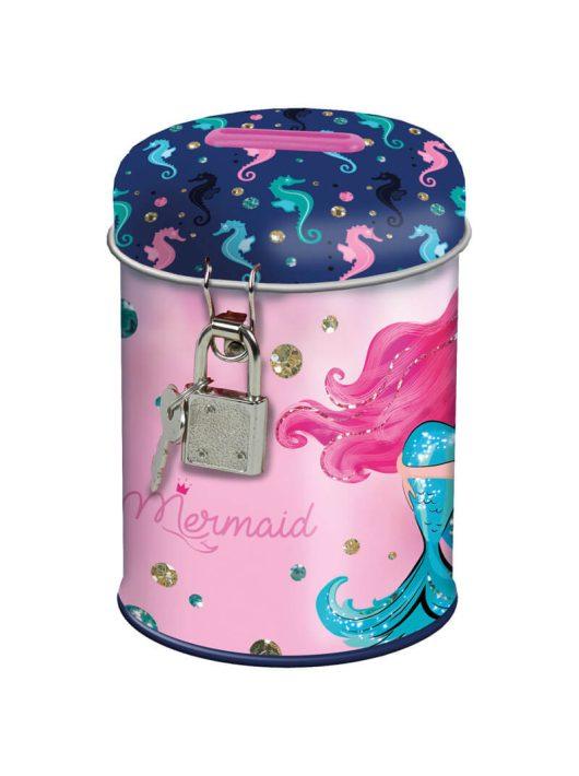 Mermaid - Hableány persely, SY11, rózsaszín
