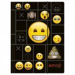Emoji - smiley gumis mappa A/4