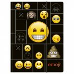 Emoji - smiley gumis mappa A/4