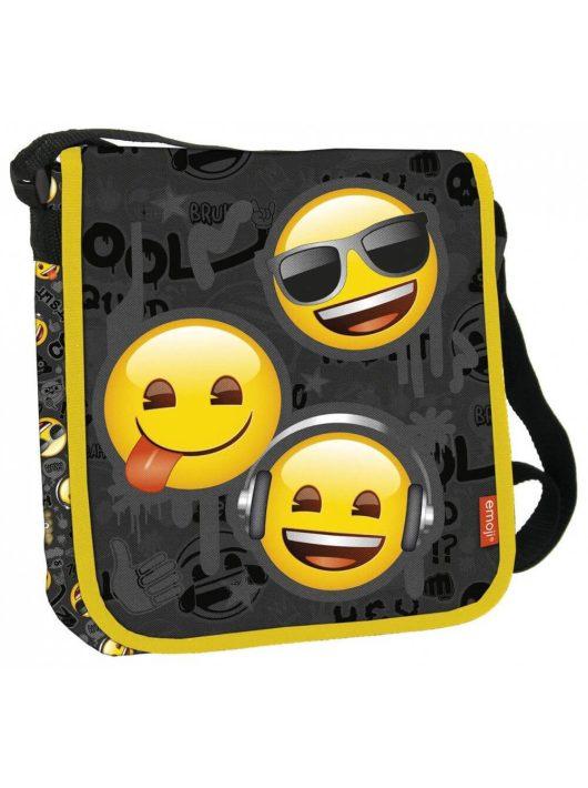Smiley, emoji válltáska, 25x21x6cm, EM10