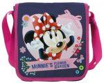 Minnie válltáska 25x21x6 cm, sötétkék