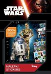 Star Wars matricás készlet és foglalkoztató 200 db matricával, 23,5x16 cm