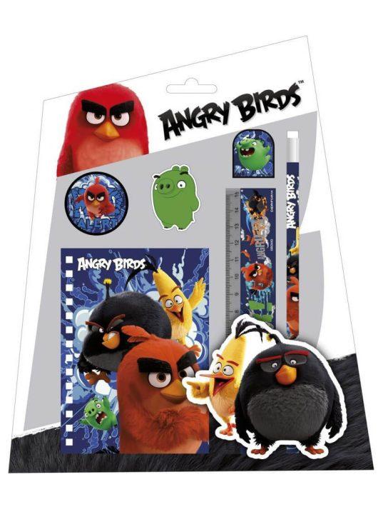 Angry Birds írószer, suli szett, 6 db-os
