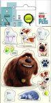 The Secret Life of Pets matrica, 8x12cm, 5 lap/csomag