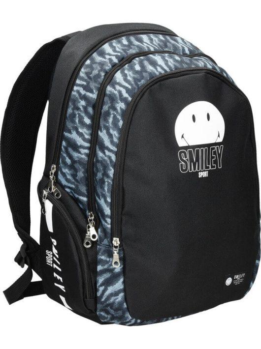Smiley, emoji pro hátizsák, iskolatáska 44x30x14,5cm