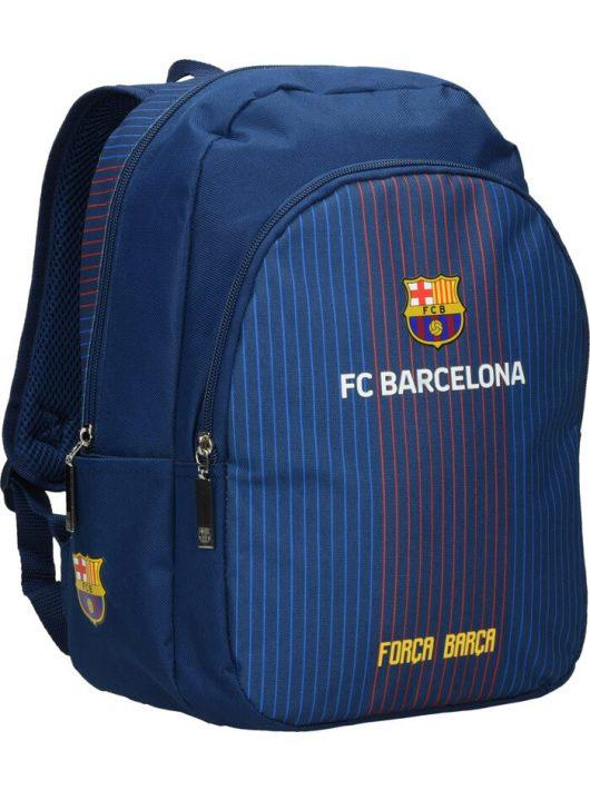 FC Barcelona hátizsák 34x22x12cm, csíkos