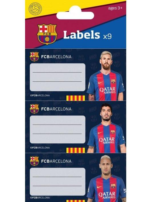 FC Barcelona füzetcímke, 9 db-os