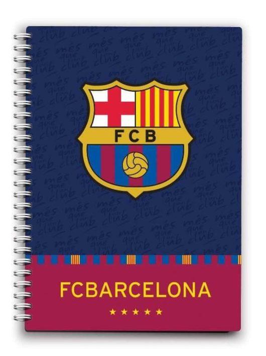 FC Barcelona notesz, spirál A/6 80 lap