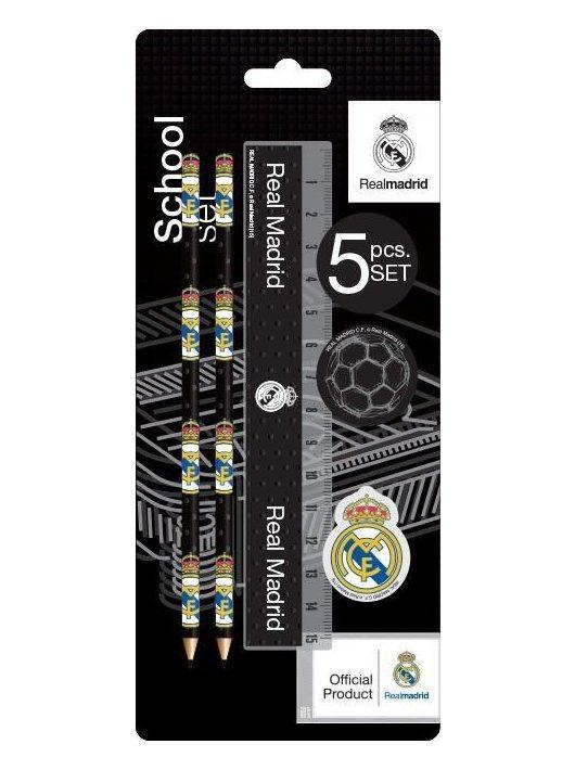 Real Madrid írószer, suli szett, 5 db-os