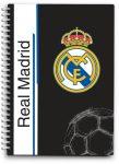 Real Madrid notesz, spirál A/6 80 lap