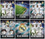 Real Madrid füzet A/4 vonalas 54lap, 80g, többféle